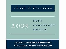 Ceelox awarded 2009 Global Emerging Biometric Solutions Of the Year Award
