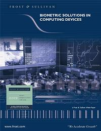 View Frost & Sullivan's White Paper on Biometric Solutions In Computing devices